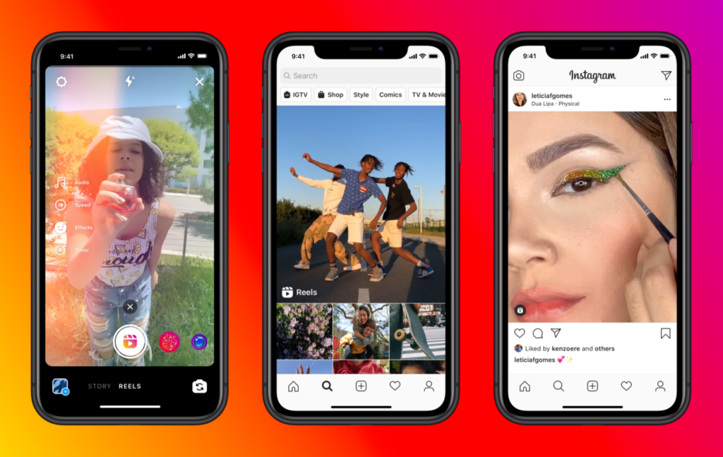 Comparing TikTok and Instagram Reels